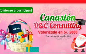 Entérate cómo obtener el Canastón R&C Consulting 2016 (valorizado en S/. 5000.00) y un  premio en efectivo, sorteo 21 de diciembre 2016.