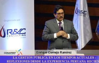 Gestión Pública en el Perú: Reflexiones desde la experiencia peruana reciente.