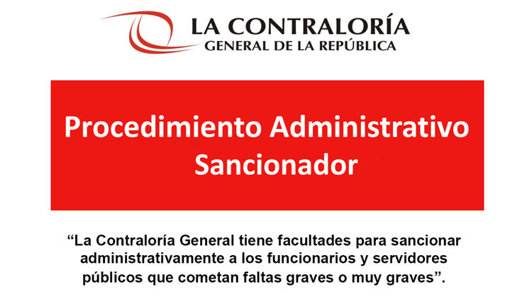 Procedimiento Administrativo Sancionador en la Gestión Pública
