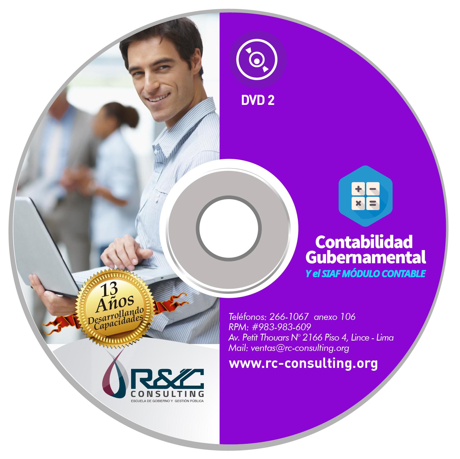 VIRTUAL contabilidad gubernamental 1 Capacitacion de Gestion Publica en DVD