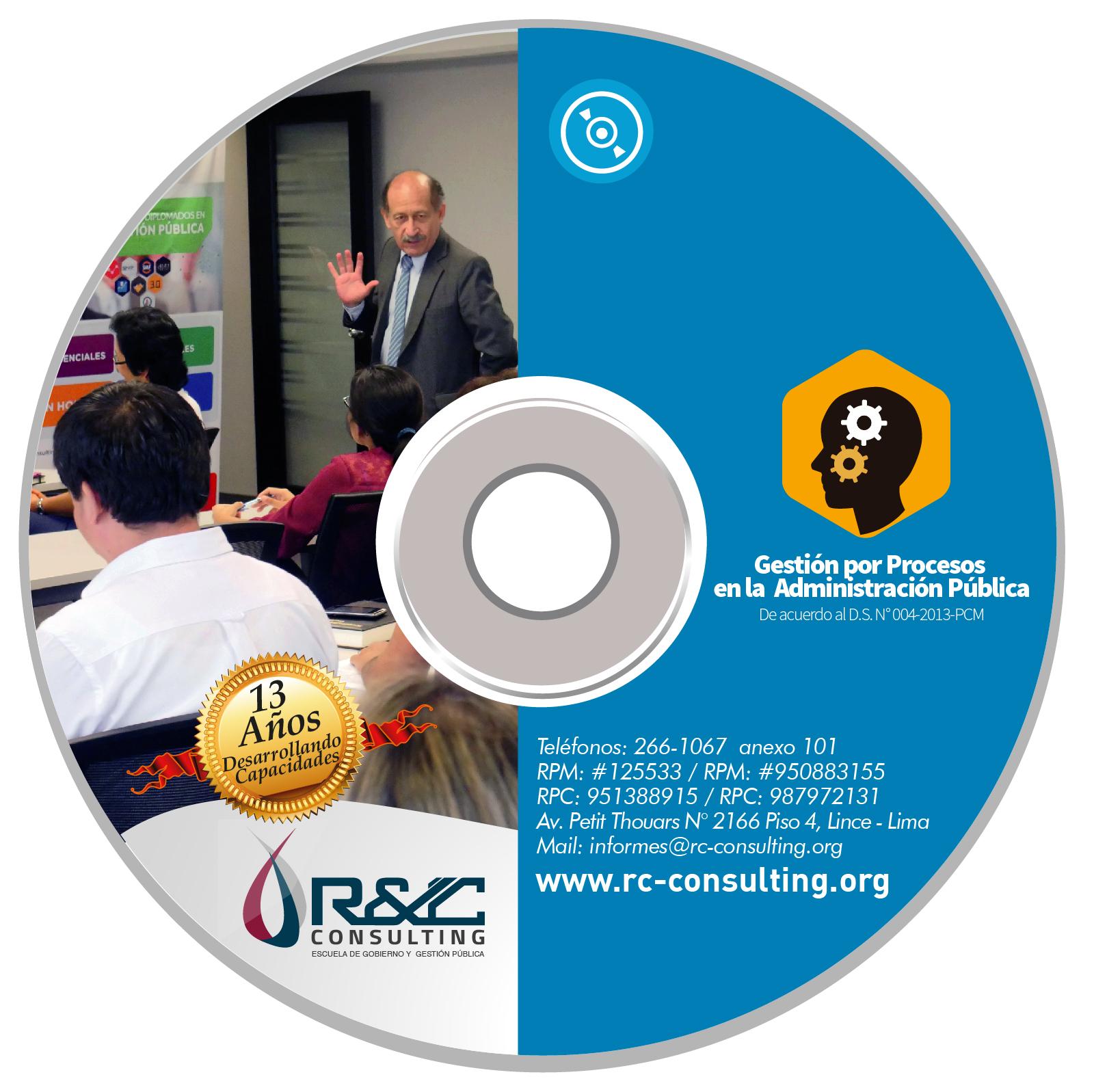 VIRTUAL CONTROL POR PROCESOS Capacitacion de Gestion Publica en DVD