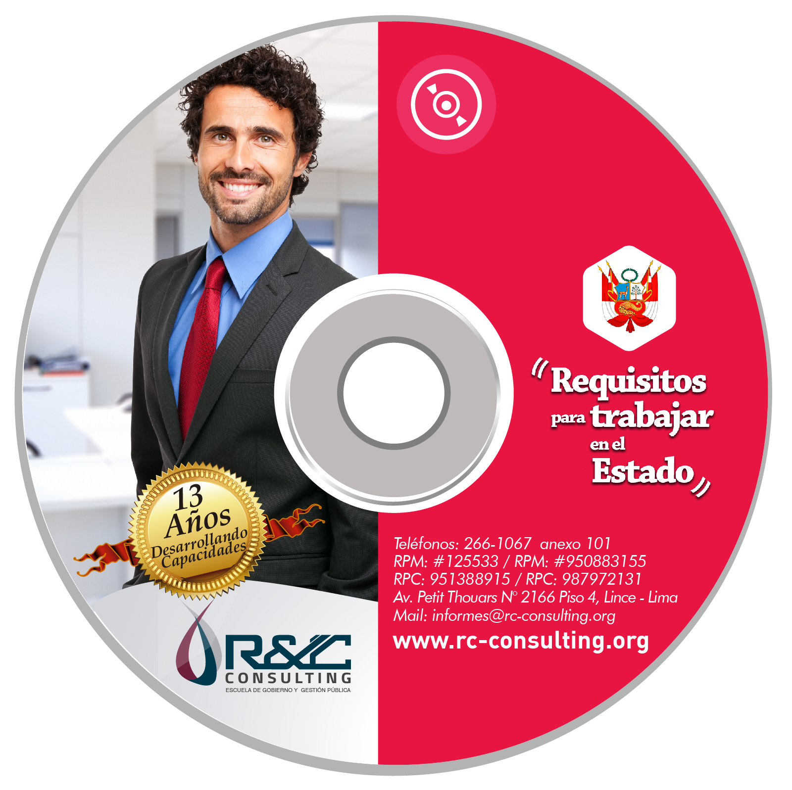 VIRTUAL REQUISITOS TRABAJO ESTADO Capacitacion de Gestion Publica en DVD