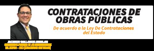 contrataciones de obras publicas
