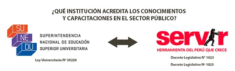 capacitación en el sector público