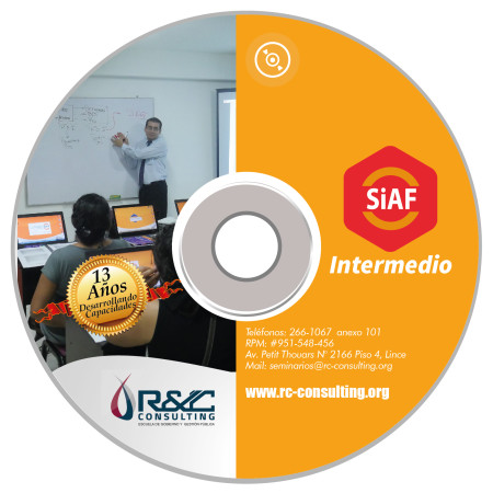 DVD CURSO SIAF INTERMEDIO