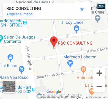 Mapa a RyC consulting